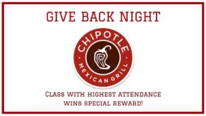 Give Back Night At Chipotle